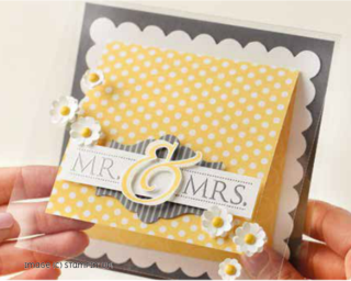 Stampin' Up! Mr & Mrs